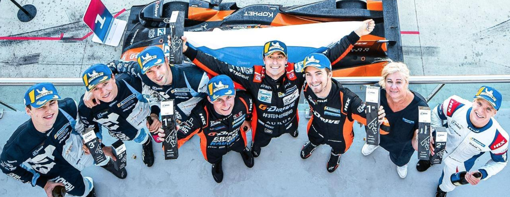 Das russische Team G-Drive Racing gewann den Meisterschaftstitel in der Asian Le Mans Series