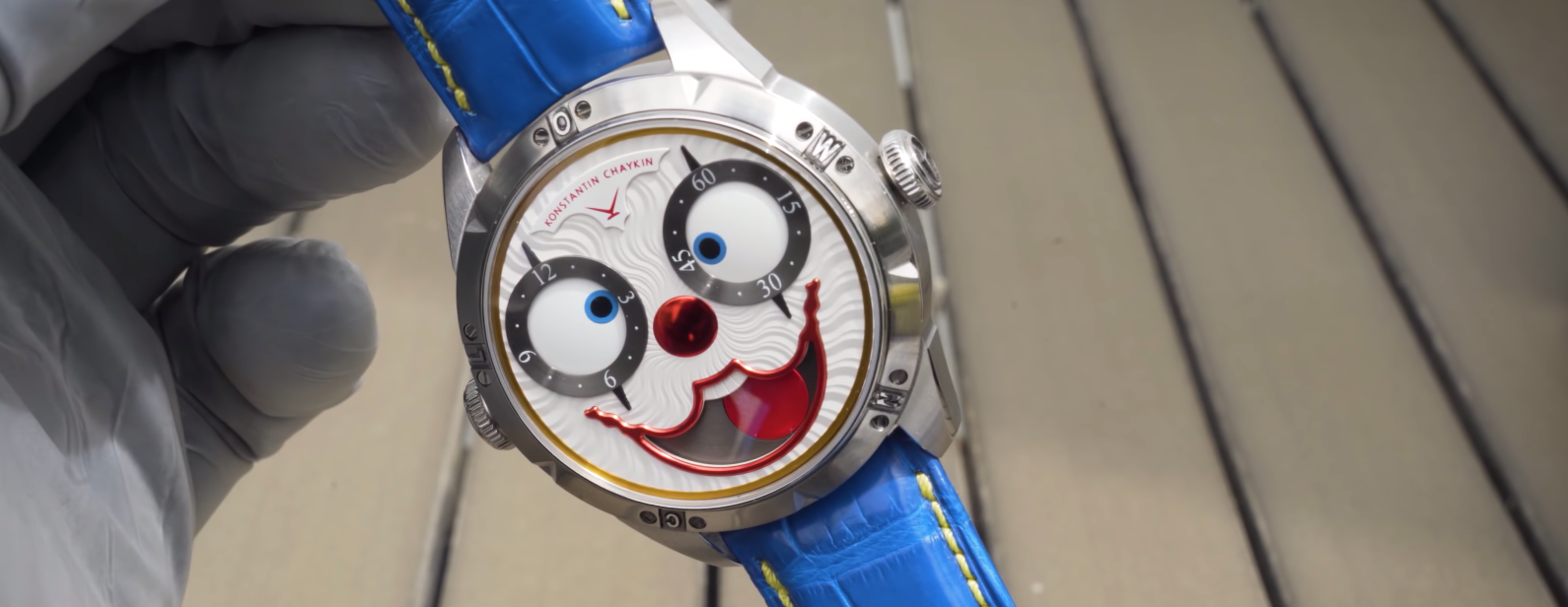 De beroemde Amerikaanse producent gaf de voorkeur aan het horloge van de Russische fabrikant