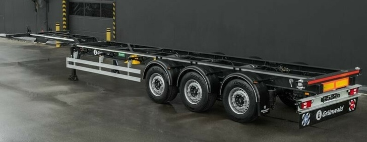 Tonar plant updated the four-axle semi-trailer model